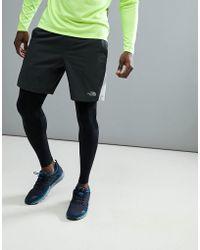 The North Face - Mountain Athletics Running Reactor Shorts In Dark Grey - Lyst