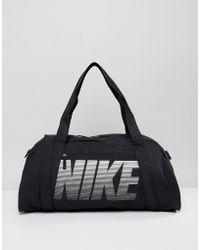 Nike - Travel Sports Bag In Black - Lyst