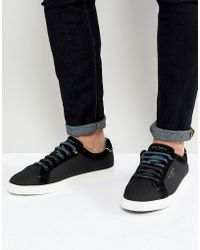 Ted Baker - Sarpio Trainers In Black - Lyst