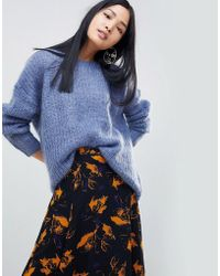 Gestuz - Hallie Mohair Blend Sweater - Lyst