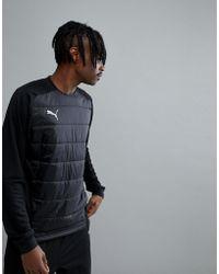 PUMA - Football Nxt Sweat In Black 65555301 - Lyst