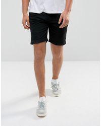D-Struct - Pull On Drawstrinig Canvas Shorts - Lyst
