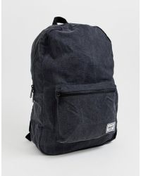 Herschel Supply Co. - Daypack - Sac à dos de 24,5 l - Noir - Lyst