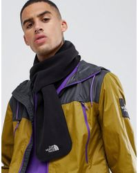 The North Face - Flash Fleece Scarf In Black - Lyst
