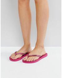 Gandys - Slim Line Flip Flops - Lyst