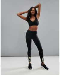 ELLE Sport - Graphic Printed Sports Legging - Lyst
