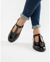 ASOS - Marky Flat Shoes - Lyst