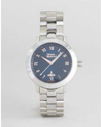 Vivienne Westwood - Vv152nvsl Bracelet Watch In Silver - Lyst