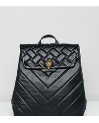 Kurt Geiger - Leather Kensington Backpack (black) Backpack Bags - Lyst