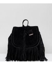 Glamorous - Tassel Backpack In Black - Lyst