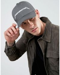 Good For Nothing - Baseball Cap In Gray With Logo - Lyst