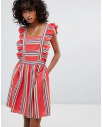 d.RA - Malibu Ruffle Front Dress - Lyst