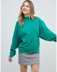 Monki - Sweatshirt - Lyst