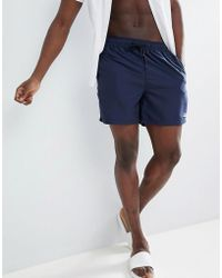 Penfield - Seal Swim Shorts Small Logo In Navy - Lyst