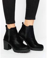 Blink - Kitten Heel Chelsea Boot - Lyst