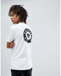 Brixton - Prowler T-shirt With Back Print - Lyst