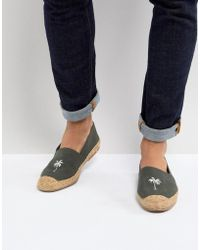 Frank Wright - Embroided Espadrilles - Lyst