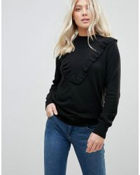 B.Young - Frill Front Jumper - Lyst