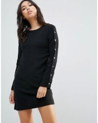 TWIIN - Apart Snap Button Dress - Lyst