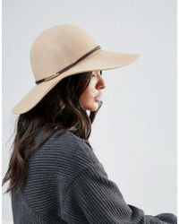 ONLY - Wool Oversized Fedora Hat - Lyst