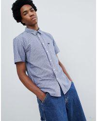 Lee Jeans - Short Sve Stripe Shirt - Lyst