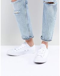 Converse Chuck Taylor Ox - Sneaker in Dreifach-Weiß