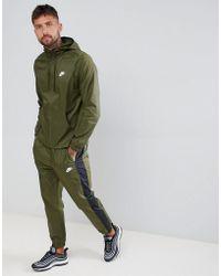 Nike - Survtement color block - Lyst