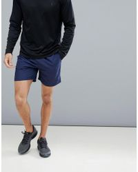 Polo Ralph Lauren - Runner Shorts Back Zip Pocket In Navy - Lyst
