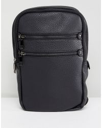 New Look - Flight Bag With Zips In Black - Lyst