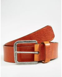 Royal Republiq - Connect Leather Belt In Brown - Brown - Lyst