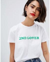 2nd Day - 2ndday Lover T-shirt - Lyst