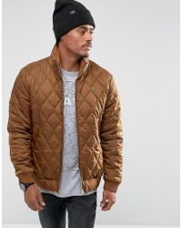 G-Star RAW - Meefic Quilted Overshirt - Lyst