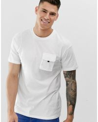 Jack & Jones - Core Box Fit Utility T-shirt In White - Lyst