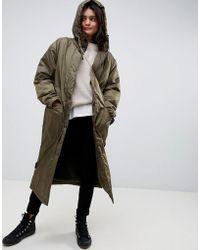 ASOS - Maxi Borg Lined Rainwear - Lyst