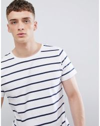 Lee Jeans - Jeans Striped T-shirt - Lyst