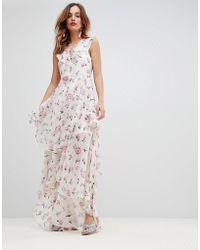 Y.A.S - Soft Tiered Maxi Dress - Lyst