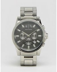 Armani Exchange - Ax2092 Stainless Steel Strap Watch - Lyst