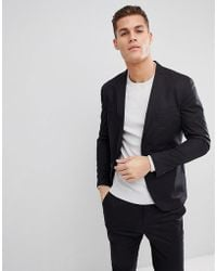 SELECTED - Suit Jacket With Patch Pockets - Lyst