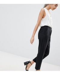 ASOS | Elasticated Clean Tapered Pants | Lyst