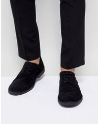 SELECTED - Desert Shoe In Black - Lyst