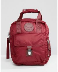 Dr. Martens - Red Small Flight Backpack - Lyst