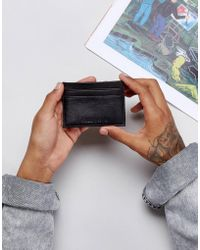 Forbes & Lewis - Leather Card Holder In Black - Lyst