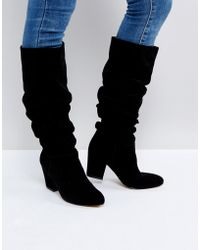 Office - Kowl Slouch Leather Boots - Lyst