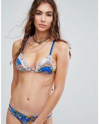 Maaji - Printed Bikini Top - Lyst