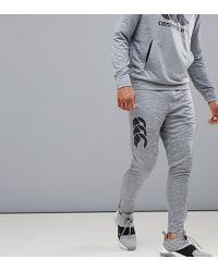 Canterbury - Pantalones tapered elsticos en gris exclusivos en ASOS de Canterbury Vapodri - Lyst
