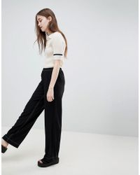 WOOD WOOD - Sabina Relaxed Trousers - Lyst