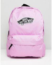 Vans - Violet Realm Logo Backpack - Lyst