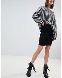 Vero Moda - Gathered Panel Skirt - Lyst