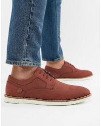 Red Tape - Holker Casual Lace Up Shoes In Burgundy - Lyst