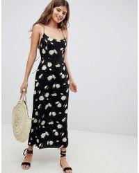 ASOS - Cami Maxi Dress In Daisy Print - Lyst